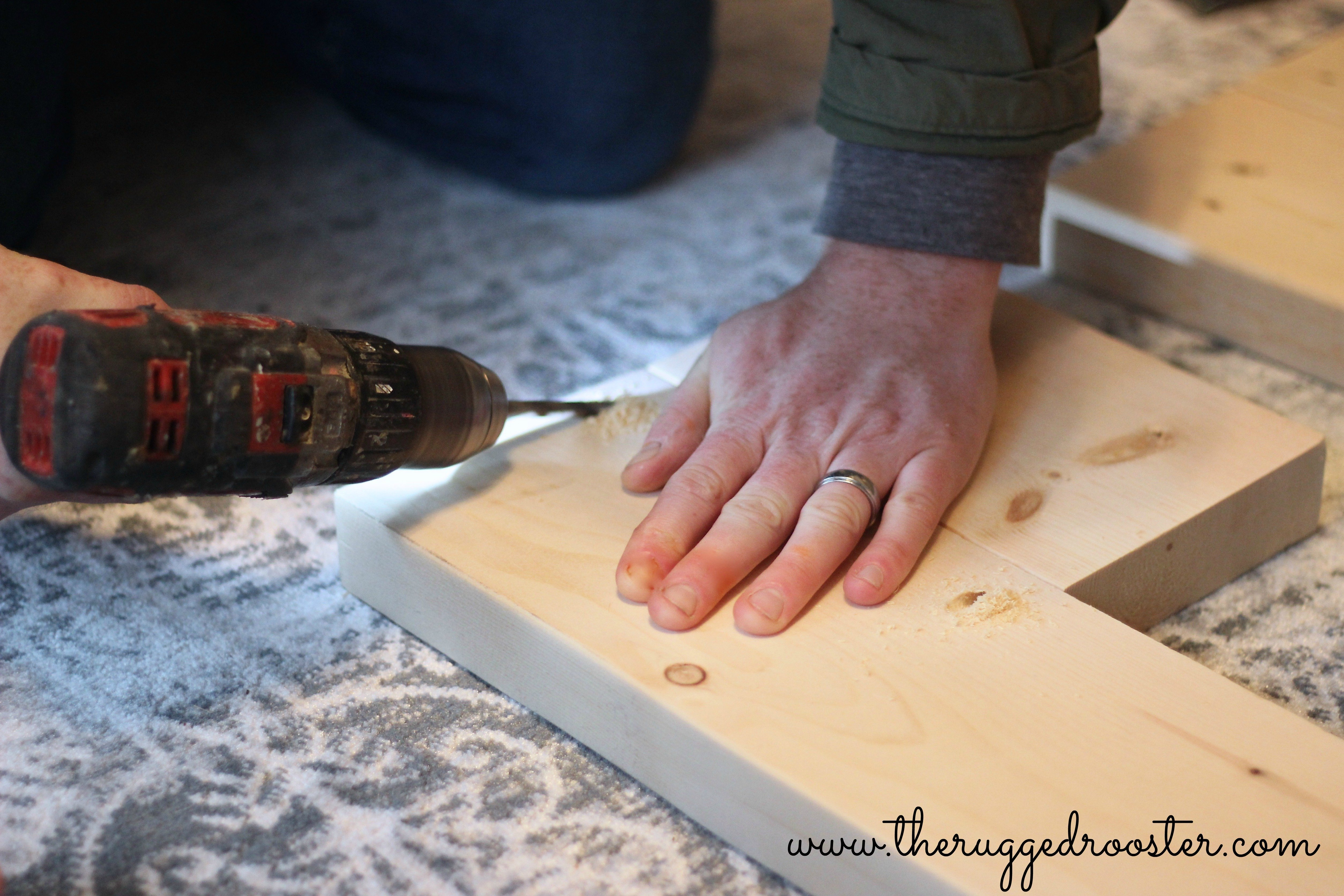 Screwing Wood Together, DIY Step Stool