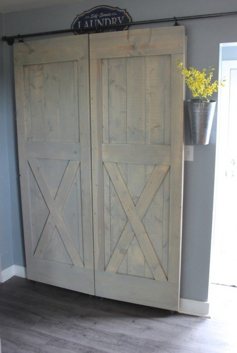 easy cheap sliding barn door hardware. Black Bedroom Furniture Sets. Home Design Ideas