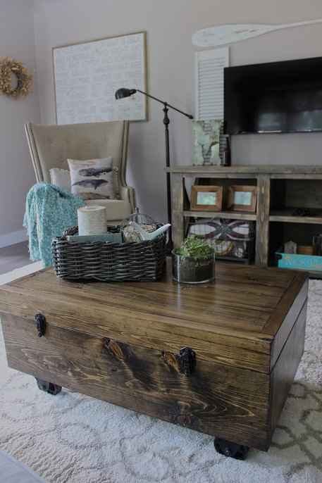 Coffee Table, DIY Coffee table, Coffee table, Storage Coffee Table