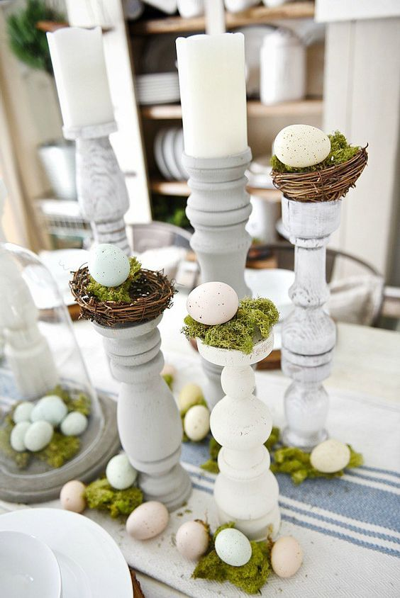 Liz Marie Galvan Tablescape, Easter Decor, Chic Decor