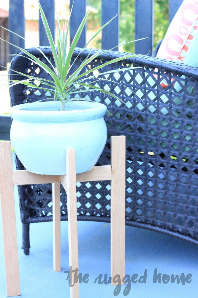 West Elm Inspired Plant Stand Easy Tutorial
