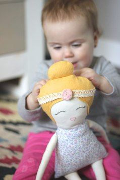 Handmade Doll, Dolls With Topbuns