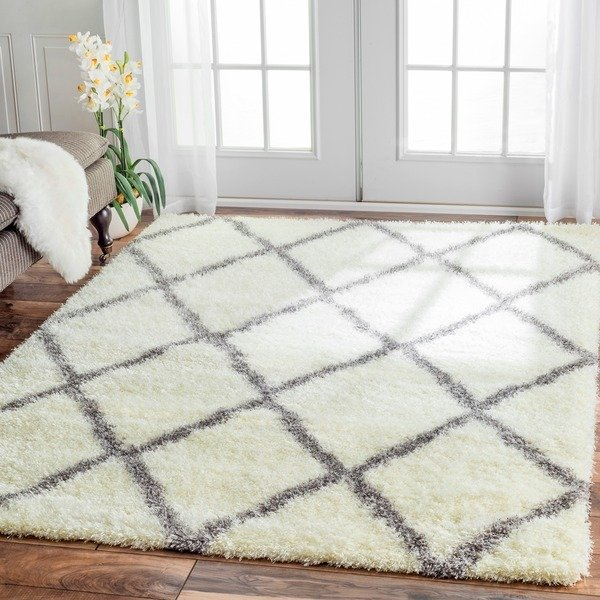 https://api.shopstyle.com/action/apiVisitRetailer?id=424832173&pid=uid7969-33980313-29 Moroccan Shag Rug, Top 10 Farmhouse Decor, Nuloom