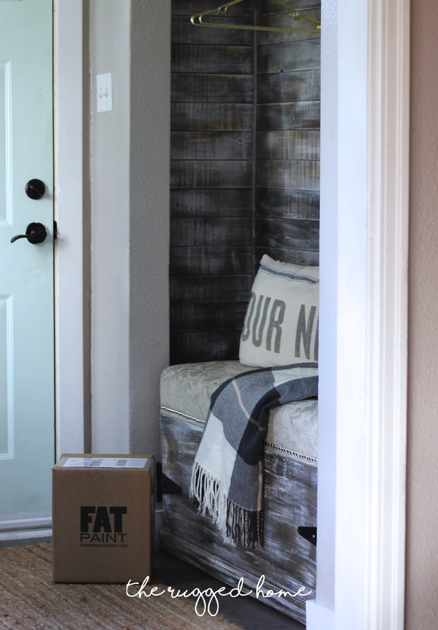 Front Door Makeover With Fat Paint, Paint Your Door Easy & Quickly In Under 2 hours for a HUGE pop