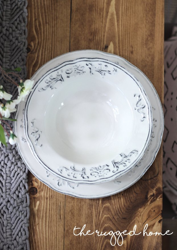 Farmhouse Tablescape, Inexpensive look For less,  Table Decorations, Table Decor