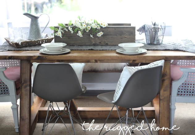 Farmhouse Tablescape, Style Your Living Room For Less