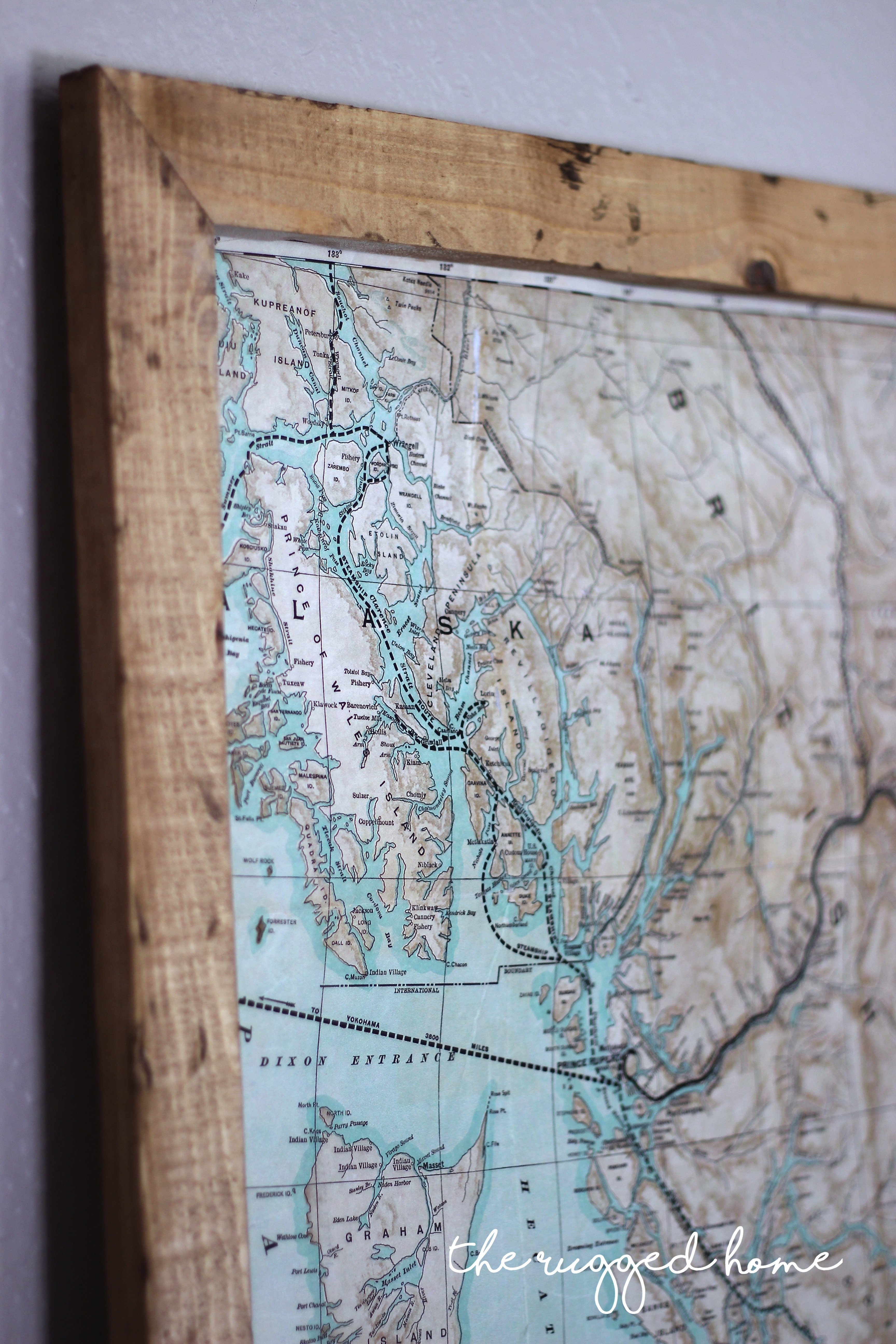 Picture of: Decorating With Maps Jessica Sara Morris