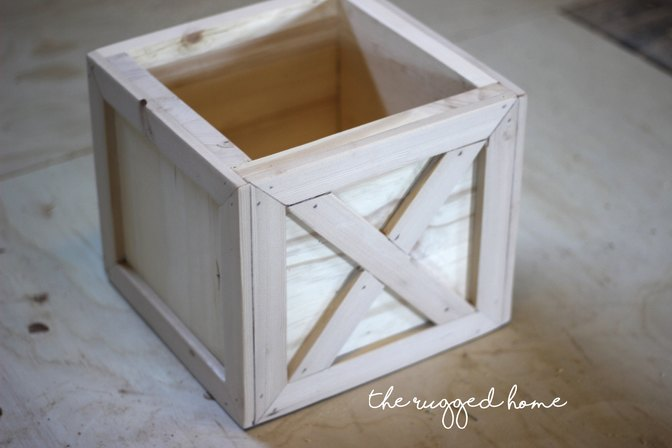 Build A DIY Plant Box In Under One Hour and Twenty Dollars
