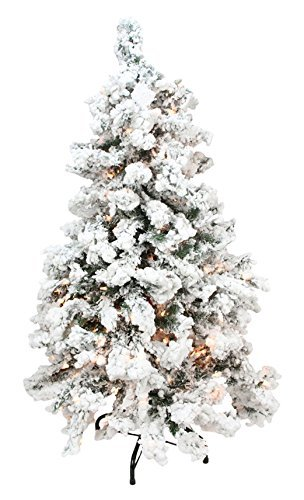 Top 6 Christmas Trees, Flocked Christmas Trees, Blue Spruce Christmas Tree, Where To Purchase In Canada and United States