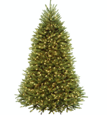 Top 6 Christmas Trees To Buy In Canada and United States, Flocked and Light Christmas Trees