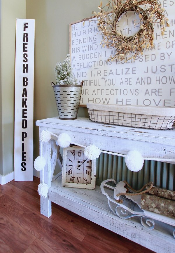 Make a Super Easy Fresh Baked Pies Sign, Farmhouse DIY Decor