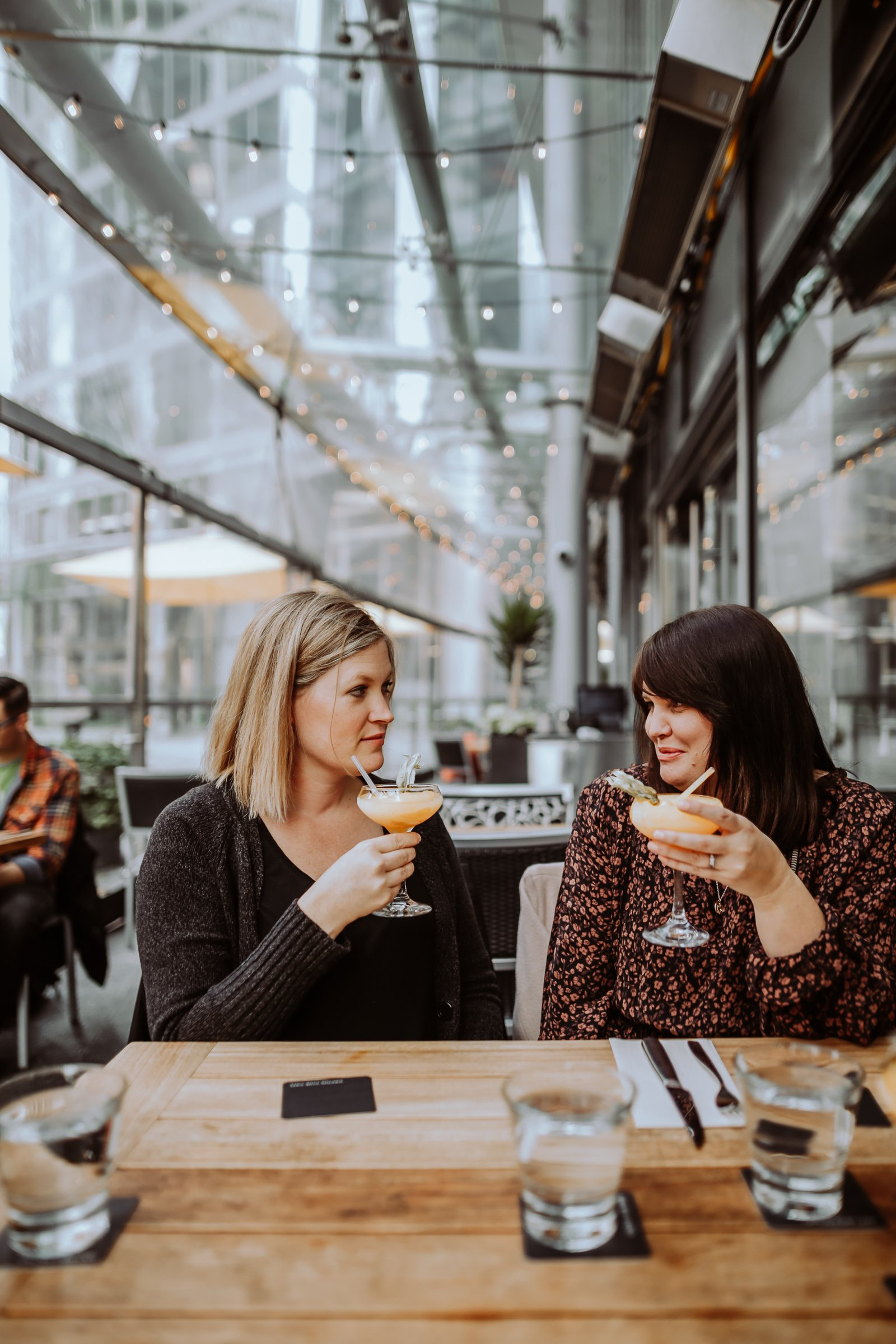 Bad Moms on the loose. Our experience at the EXchange Hotel in Downtown Vancouver as well, Our experience at the Life After Birth Event with Knix, Jillian Harris and Sarah Nicole from the Birds Papaya.