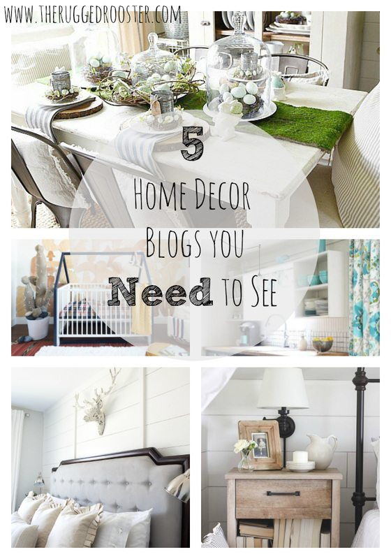 5 Home Decor Blogs You Need to See, Country Modern Homes