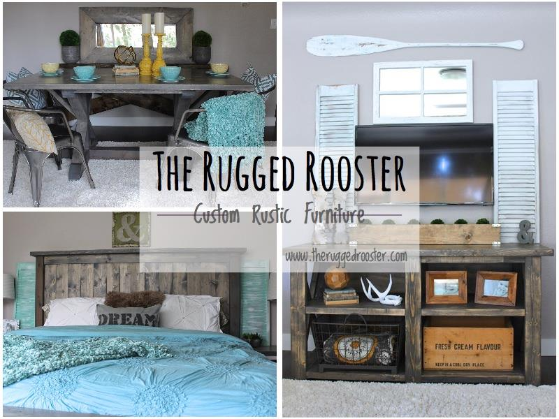 The Rugged Rooster, Custom Rustic Furniture