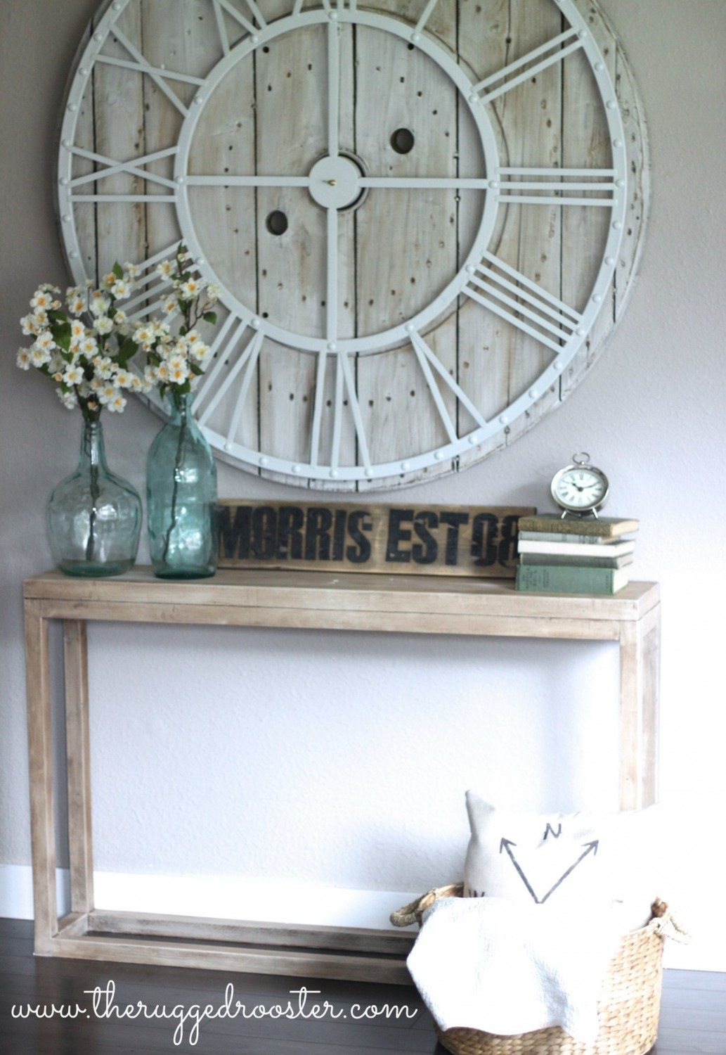 Make barnwood out of paint