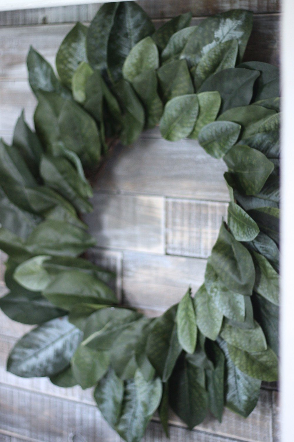 DIY Magnolia Wreath, Fixer Upper Magnolia Wreath