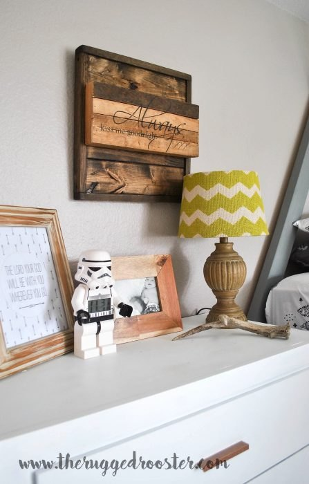 https://www.whitepicketfarmhouse.com/boys-bedroom-reveal/ Boys Bedroom, Kids Bedroom, Grey Boys Bedroom, DIY bedroom, Kids Modern Bedroom
