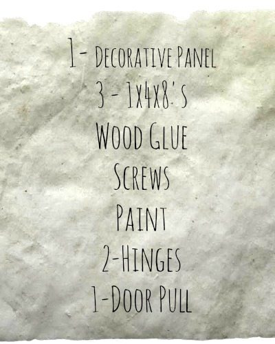 Barn Door Shopping List, Easy DIY Barn Door, Closet Doors, DIY Doors