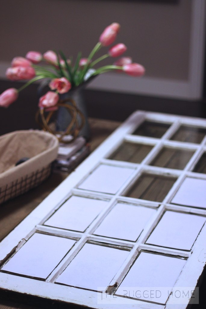 Salvaged Window and Free Printables, Easy DIY Barn Window Art