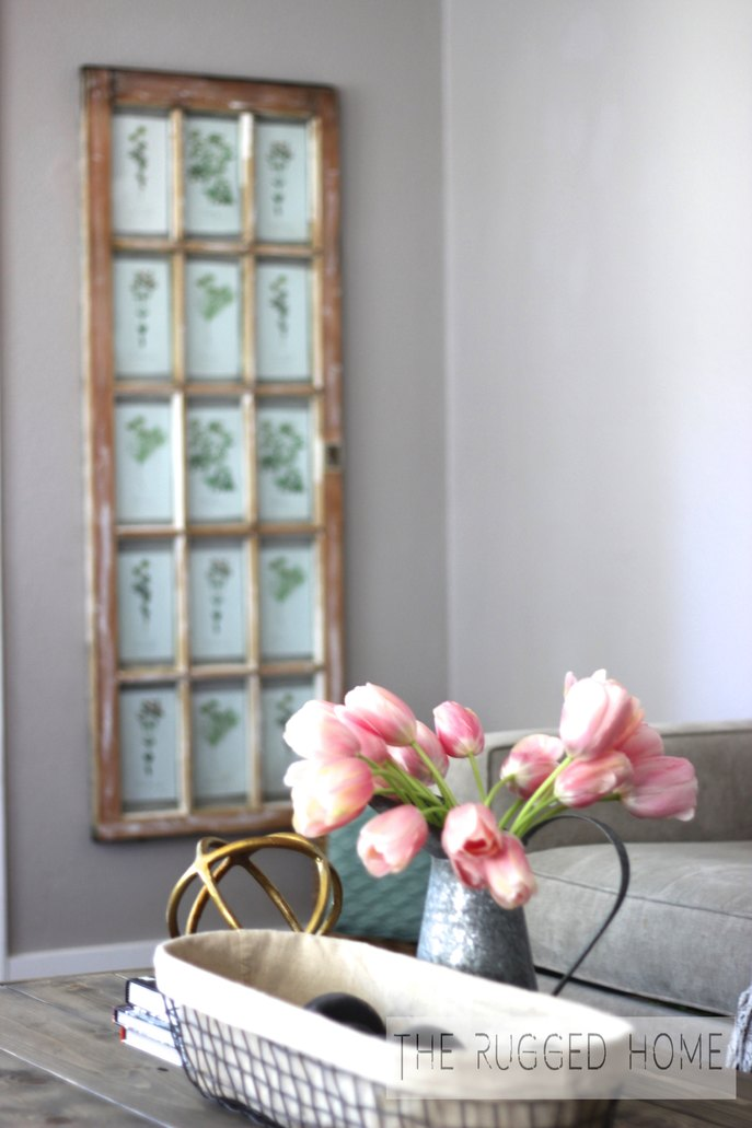 DIY Salvaged Window and Free Printables, Barn Window Art, DIY Barn Window
