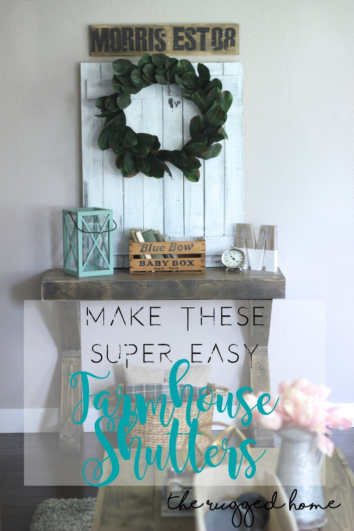 https://www.whitepicketfarmhouse.com/farmhouse-shutters/ , Make These Super Easy DIY, Shutters From Scratch, Tutorial, Distressing and Painting, Learn How To make EASY DIY Shutters, farmhouse Shutters, From Scrap or Pallets, Get the Farmhouse Look in Under 30 minutes