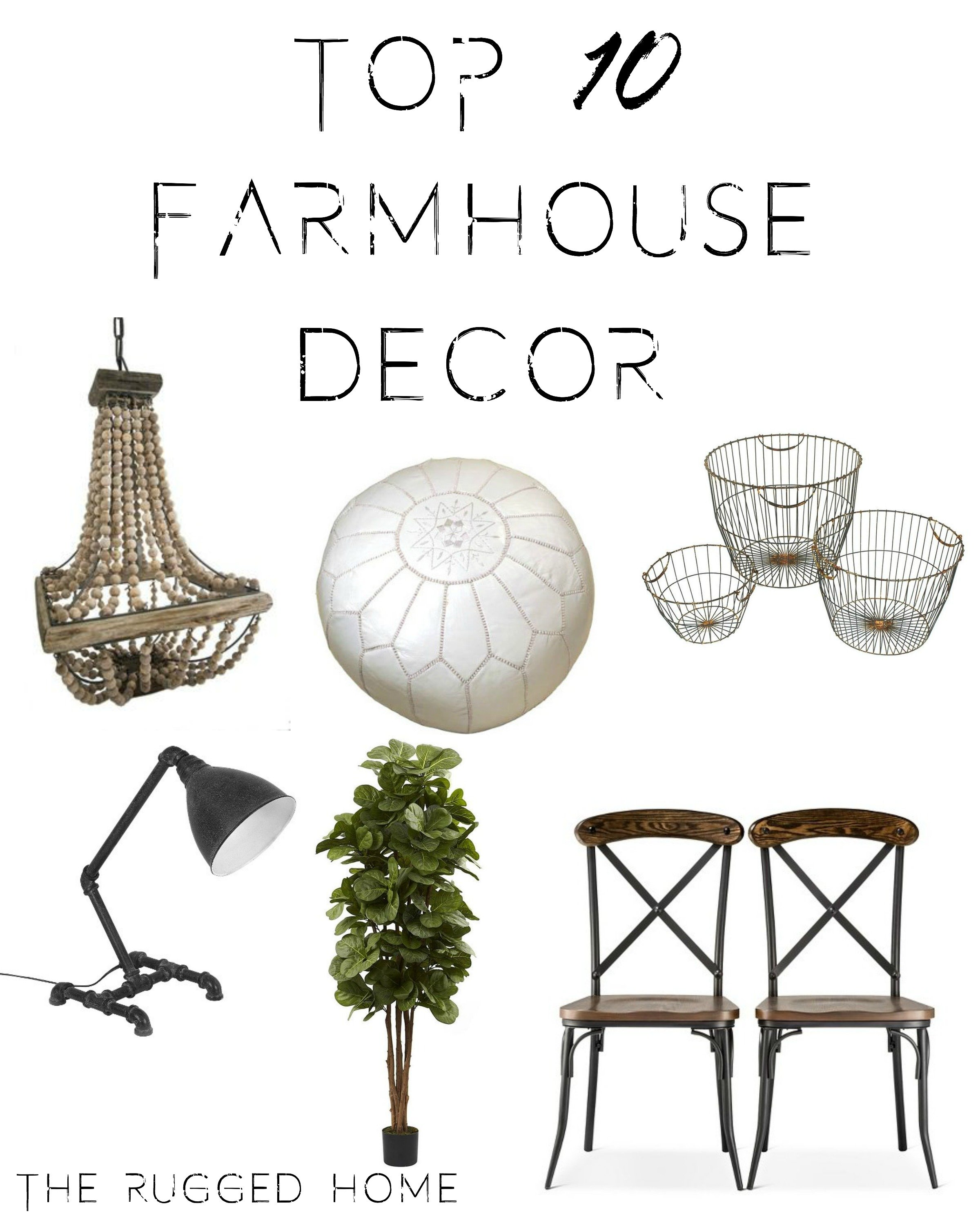 Top 10 Farmhouse Decor, Links for Top 10 Farmhouse Decor, Link to beaded Farmhouse Lamp https://api.shopstyle.com/action/apiVisitRetailer?id=457359217&pid=uid7969-33980313-29