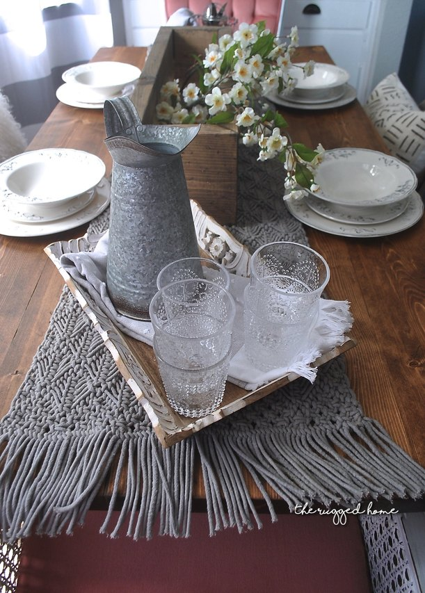 Farmhouse Tablescape, High End Look For less, Table Decorations, Table Decor