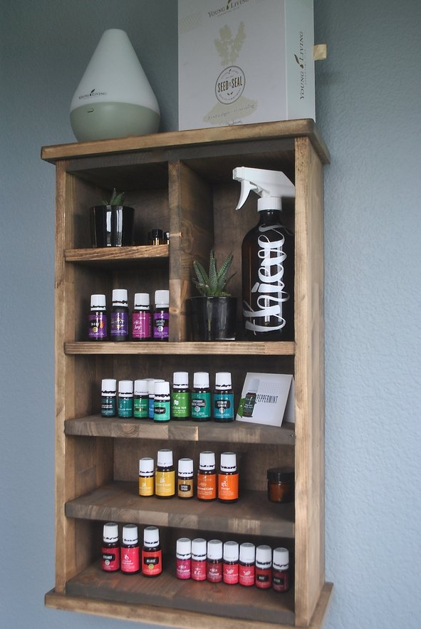 Essential Oils Week Five - Free Essential Oils Shelf