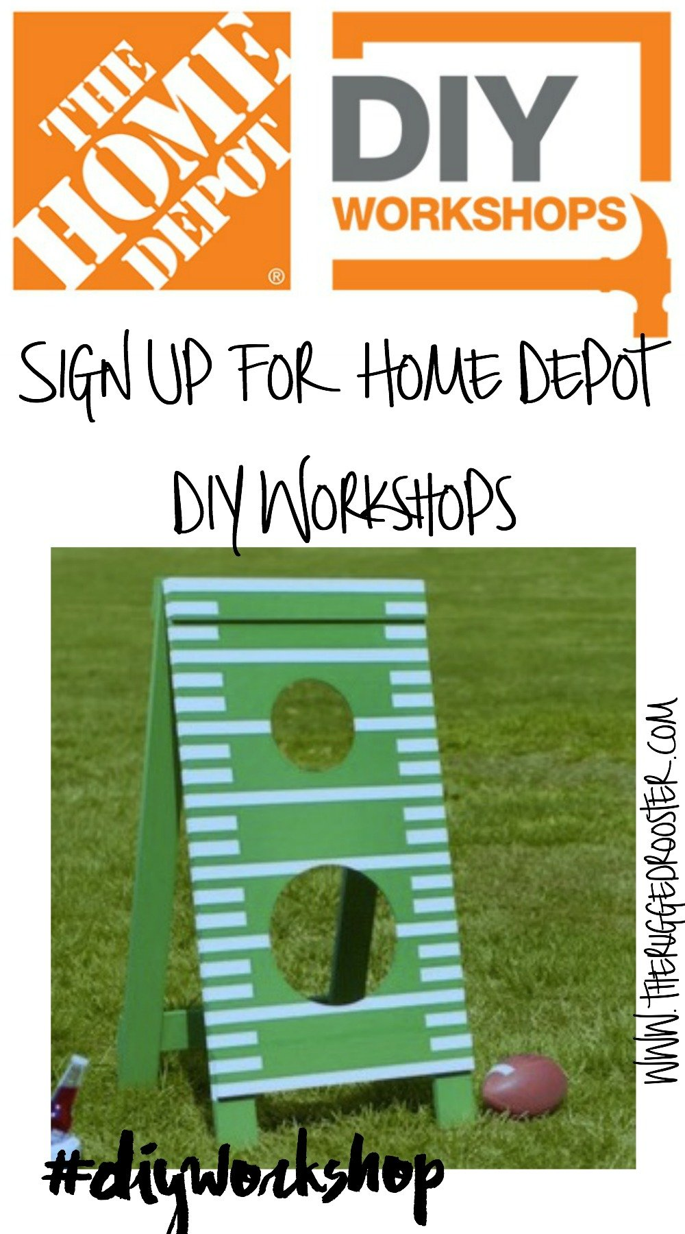 Home Depot DIY Workshop