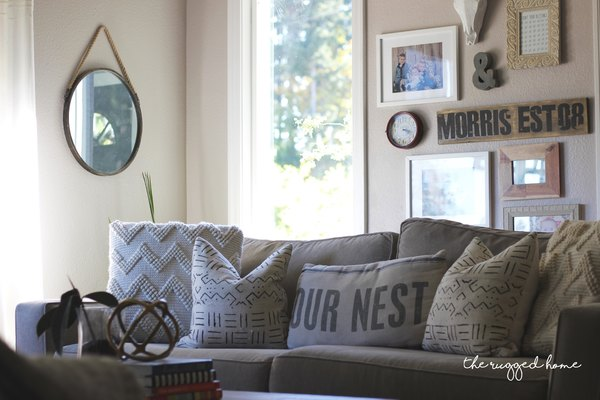 Farmhouse Living Room Reveal, Where To Buy and Easy DIY Rustic Decor