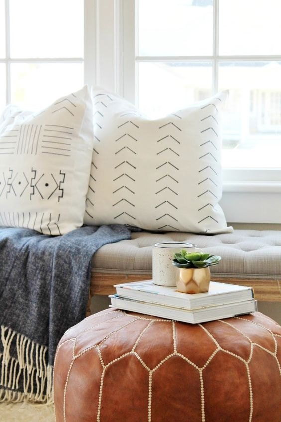 Top 10 DIY Projects, DIY Mudcloth Pillows