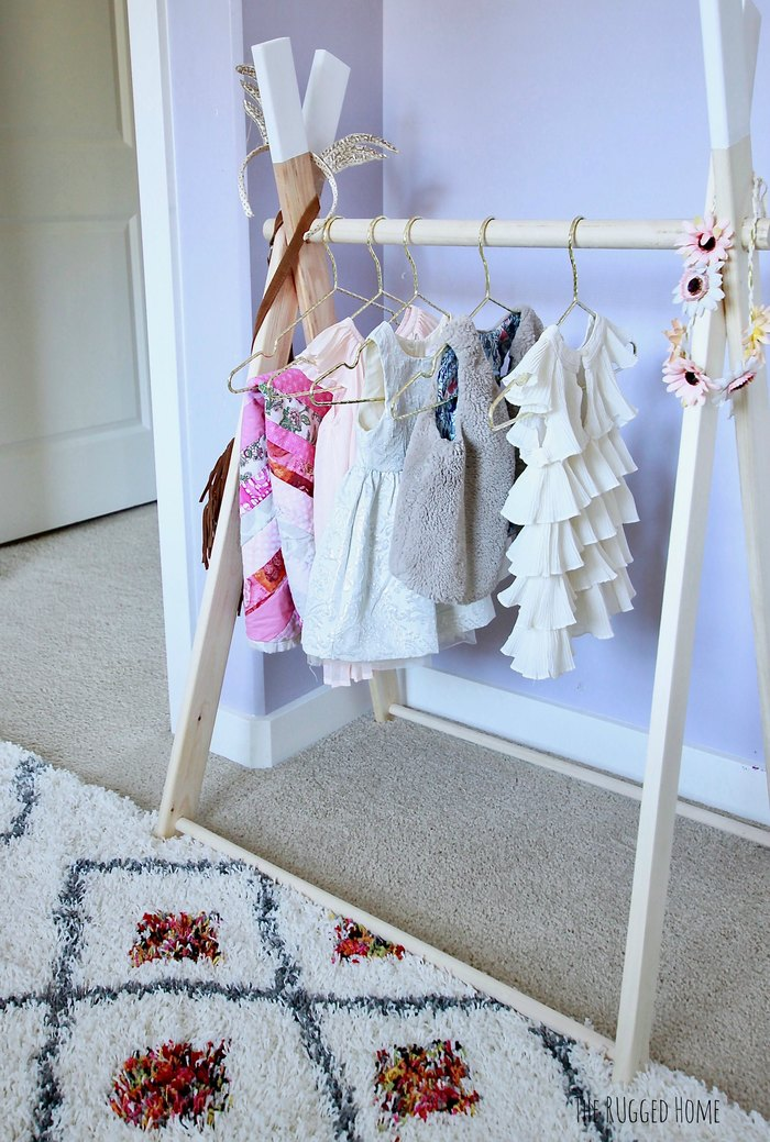 Adorable little girl nursery. Pinks & purpes with a pop whimsy www.whitepicketfarmhouse.com