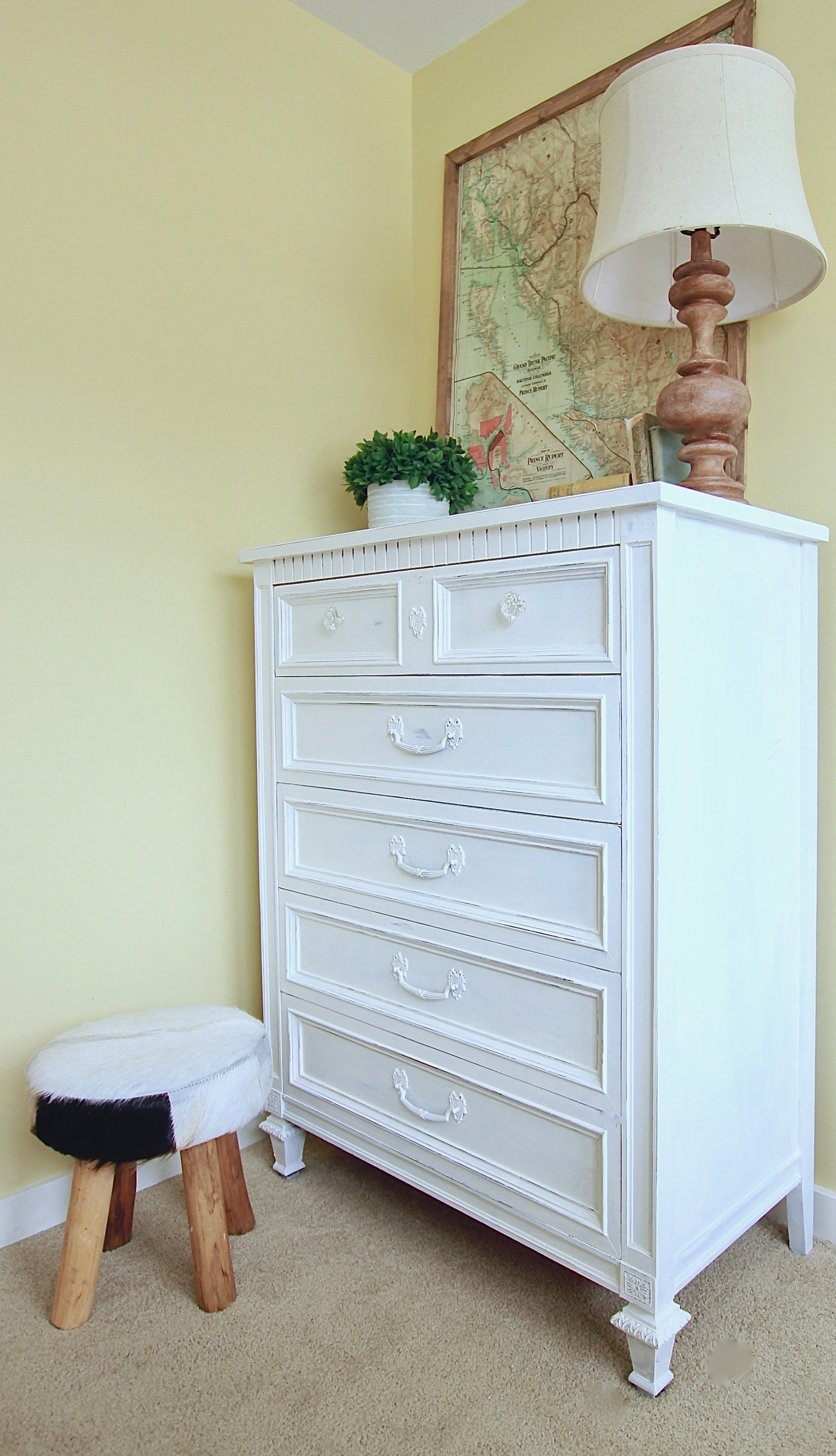 Refinished Farmhouse Dresser