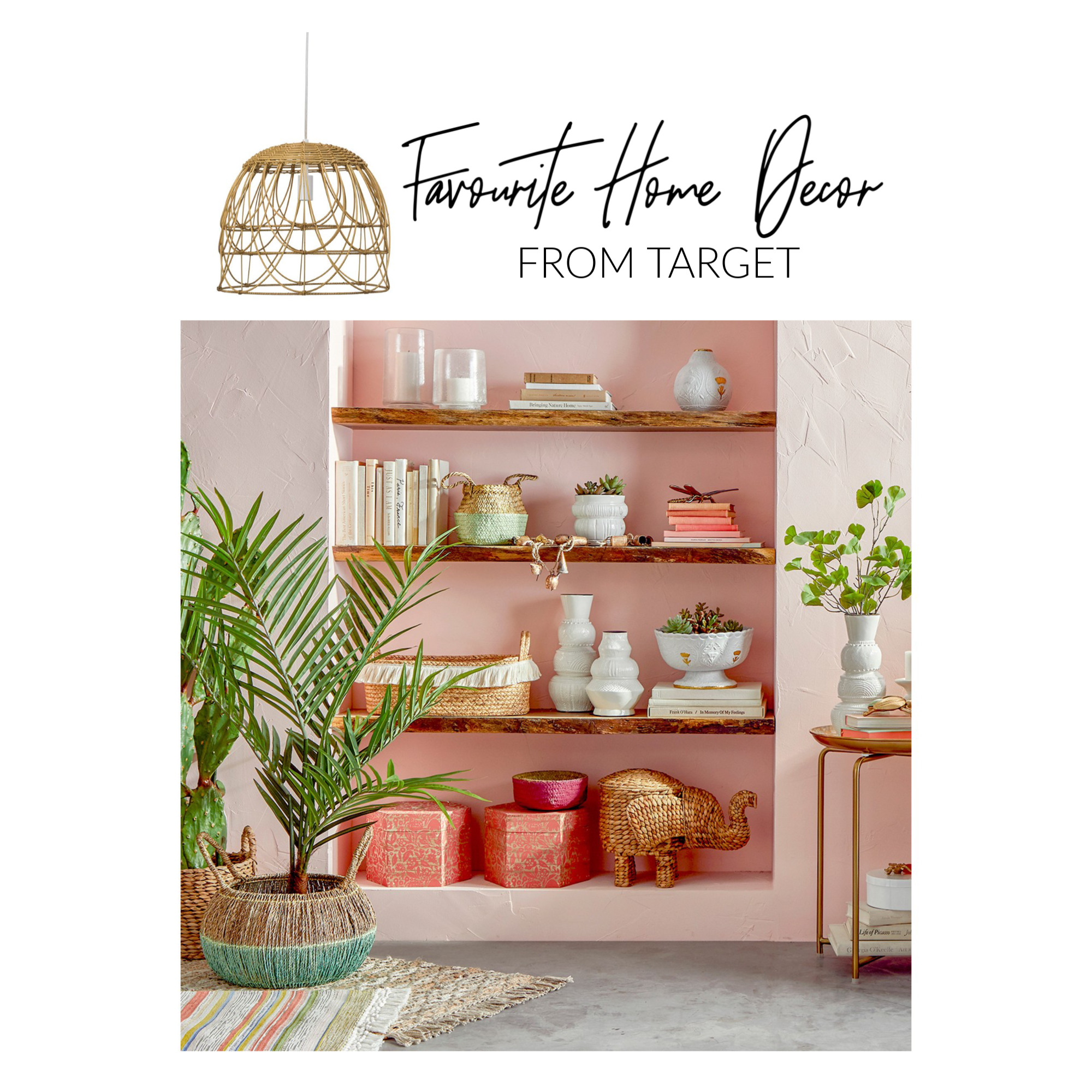 Target Home Furnishings: Favourite Home Decor From Target