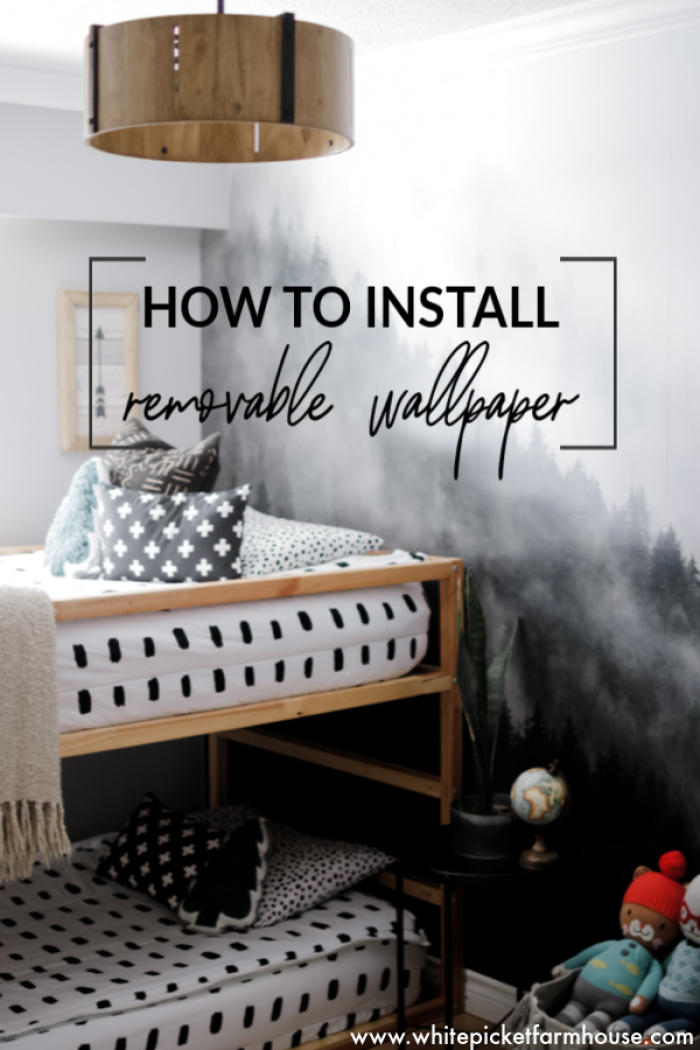 Boys Bedroom Transformation With Urban Walls. How To Apply Removable Wallpaper and or Wall Decals. Tips and Tricks I've learnt from experience.
