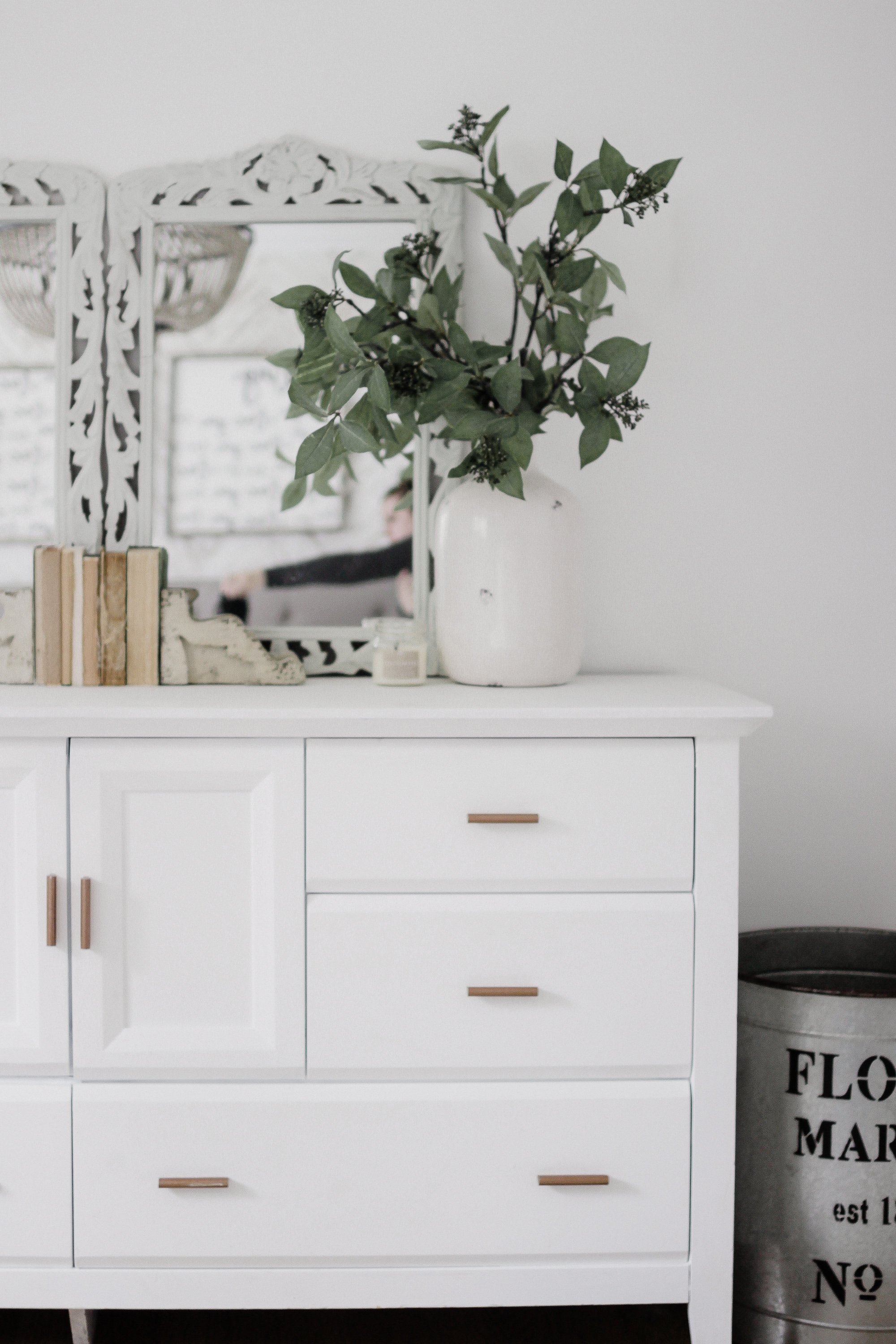 How To Style A Dresser Easily