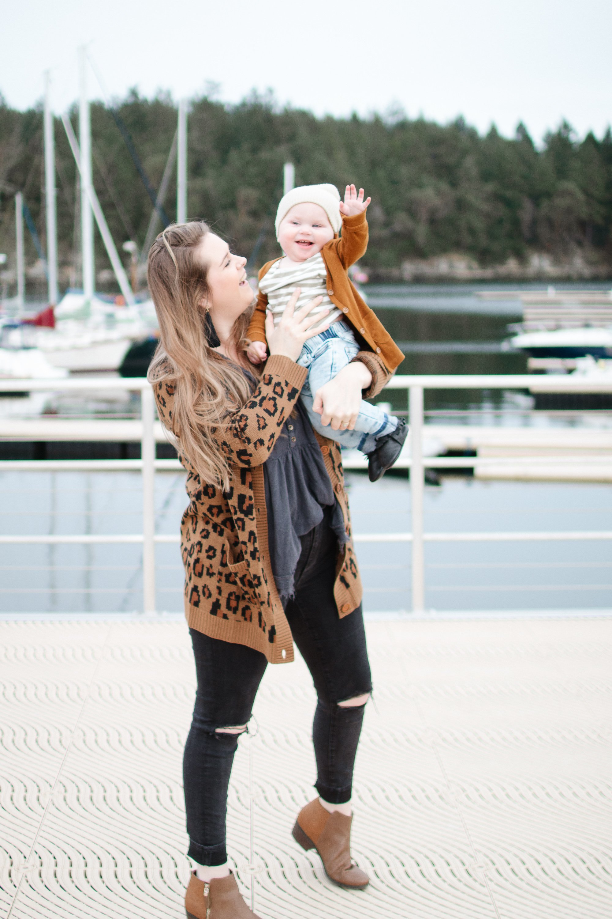 My thoughts on self love and the cutest small shop feature - Beau Hudson. An Australian clothing shop. Mom style, Kids Style