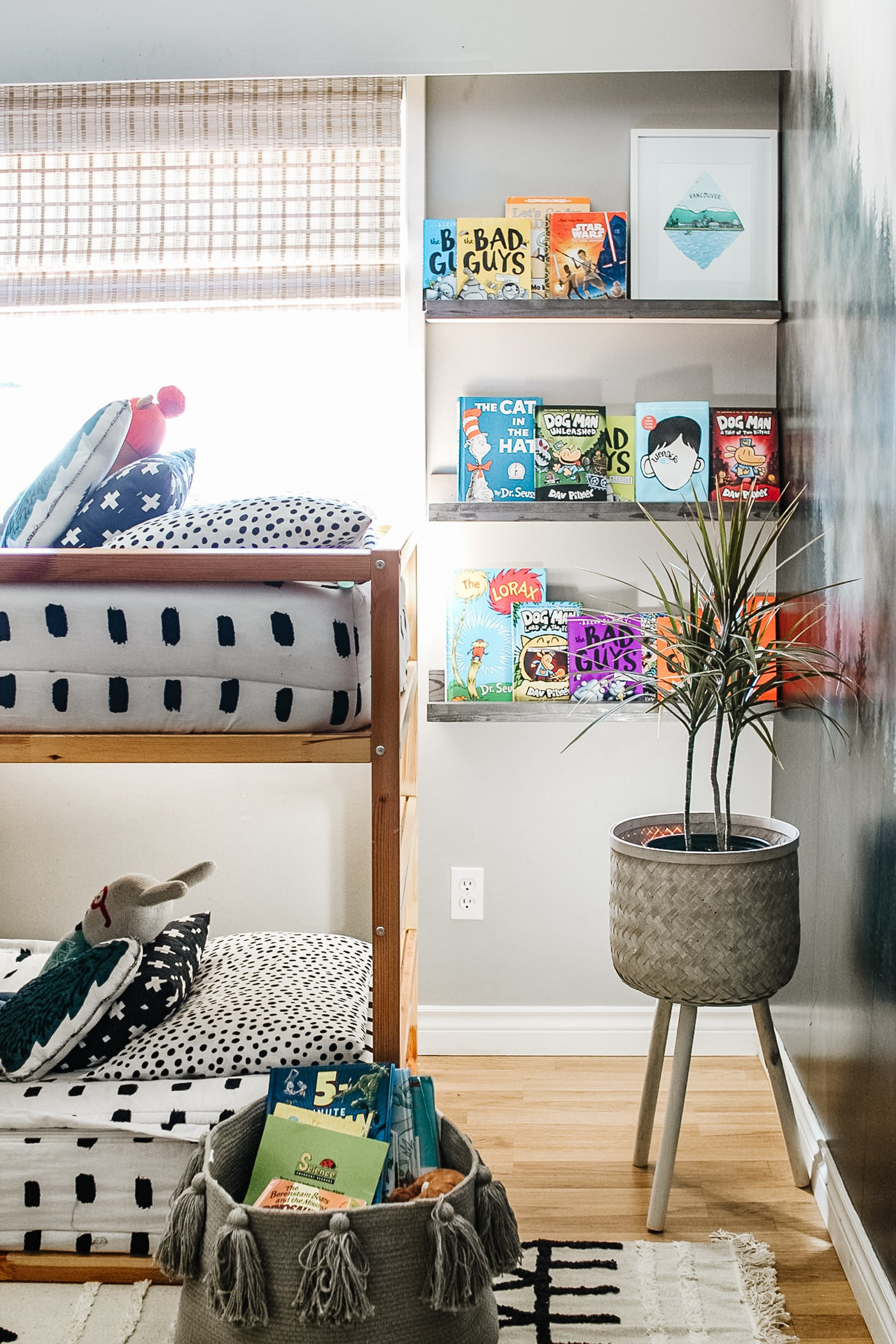 New Window Coverings from Blinds Galore and How We Styled them In our Master Bedroom, Nursery and Boys Bedroom.