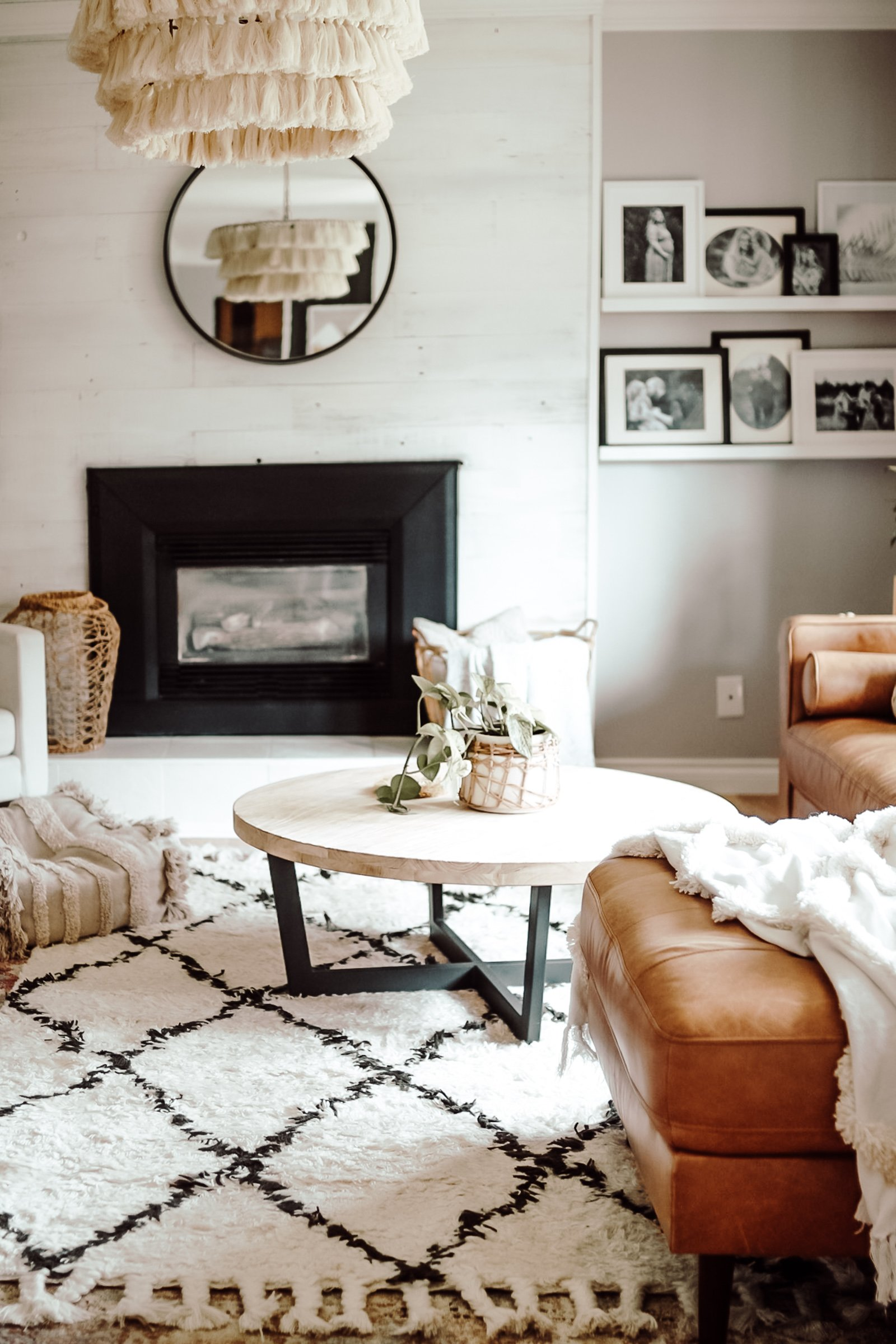 How To Modernize Your Living Room. How I Turned My Farmhouse Living Room Into A Modern Bohemian Living Room. Simple Free Tricks