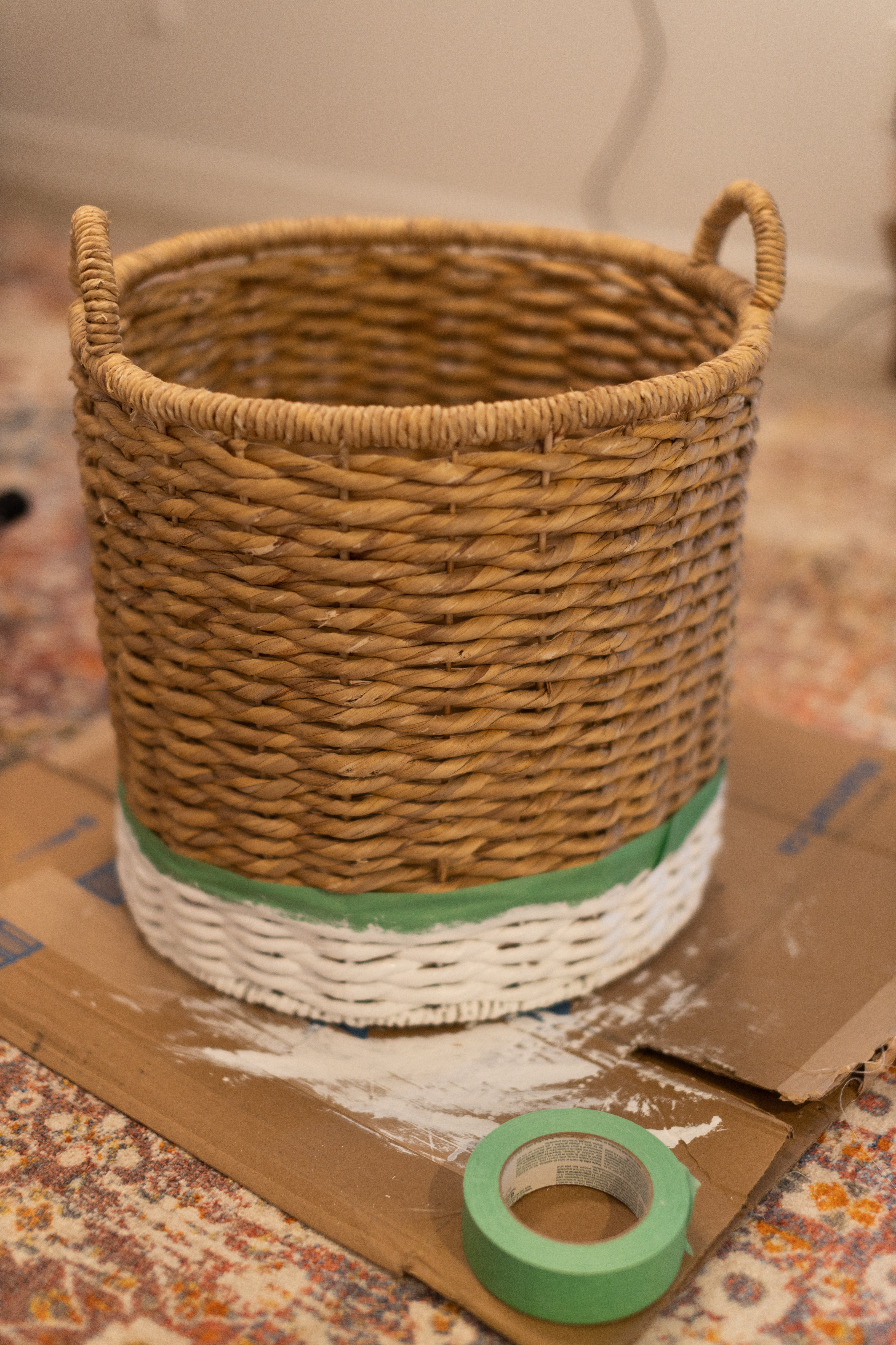 McGee and CO Inspired Dipped Basket. I tried my hand at a DIY Dipped basket and it turned out beautifully and I saved over 150 Dollars!