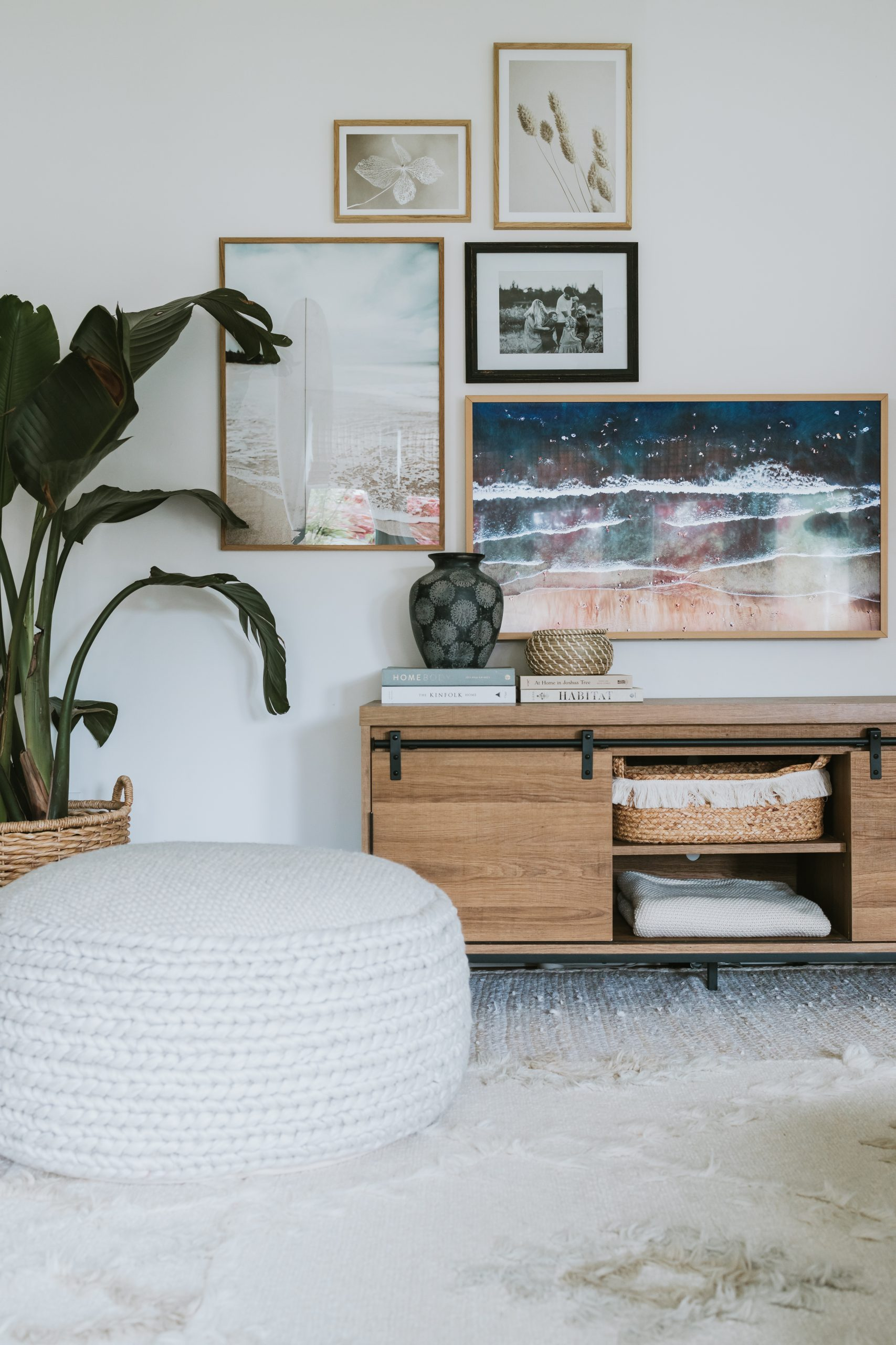 New Art and Review Of The Samsung Frame TV. Why we purchased The Samsung Frame TV. Where you can find the 2019 model on sale and why we love it.