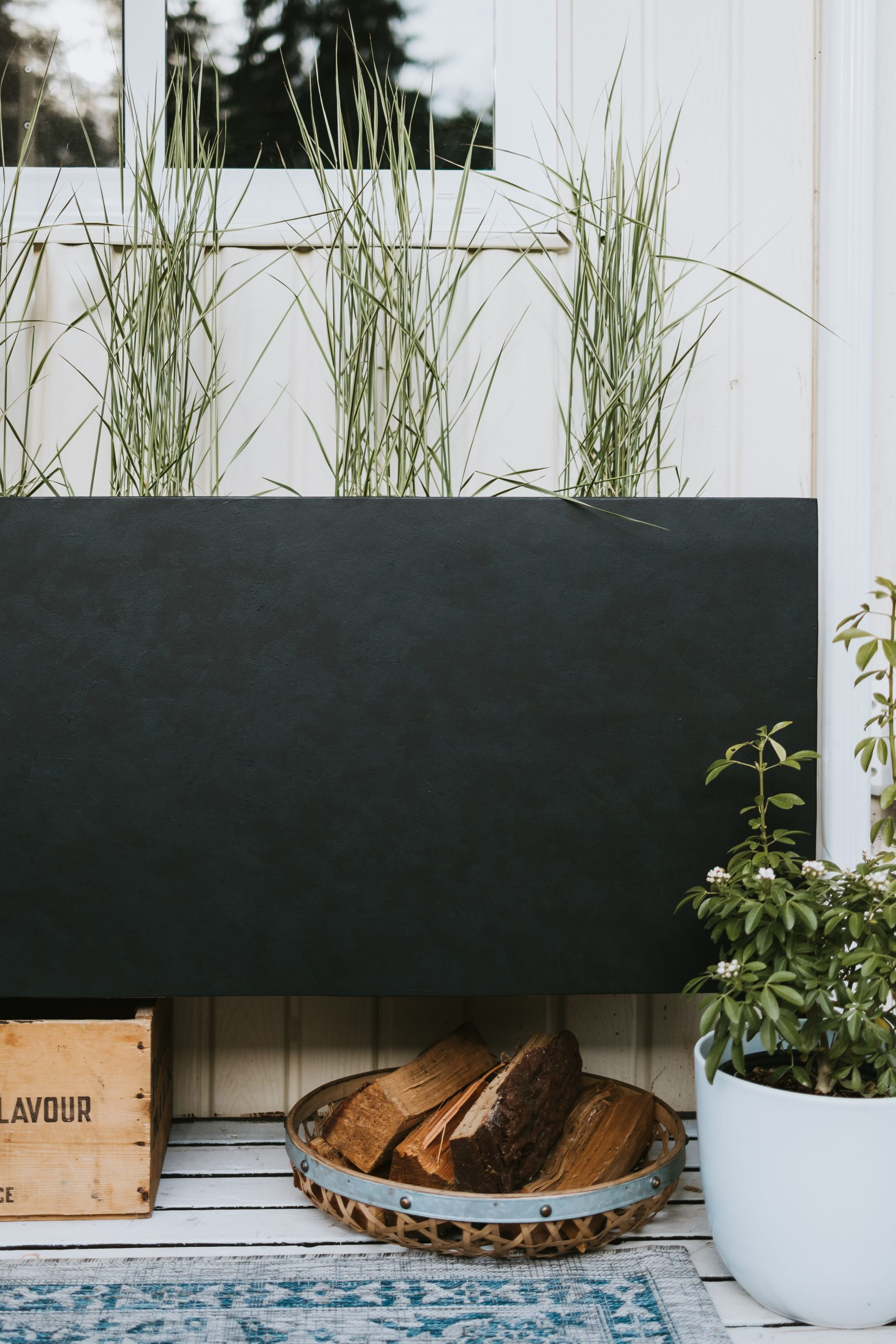 "Restoration Hardware Inspired Planter. Do you love the ""Estate Zinc Planters"" but you can't afford the price? This beginner tutorial will cost under 50.00"