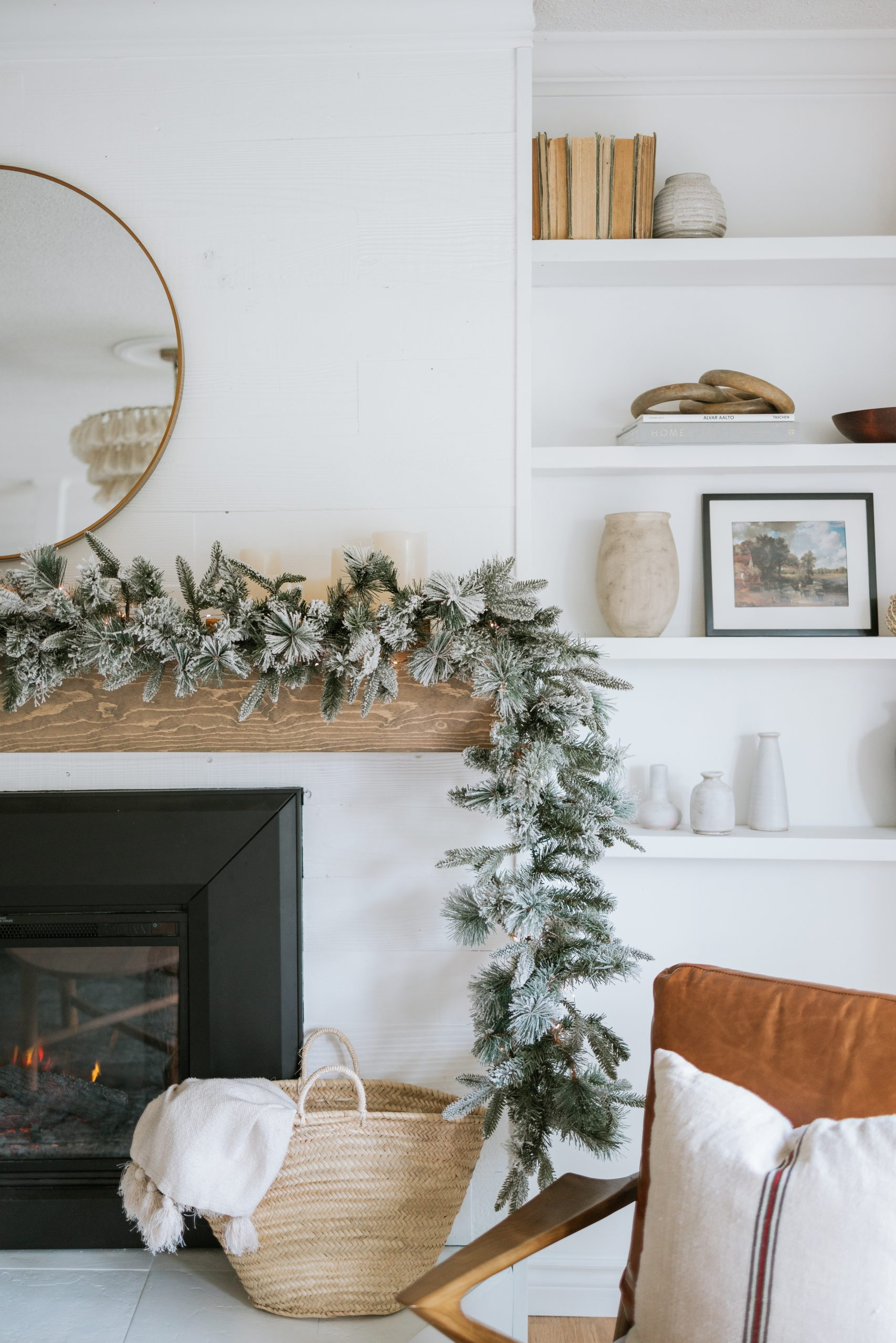 Mixing Styles for a Perfectly Styled Christmas Mantle. How you can inexpensively make your mantle a showstopper this Holiday Season.