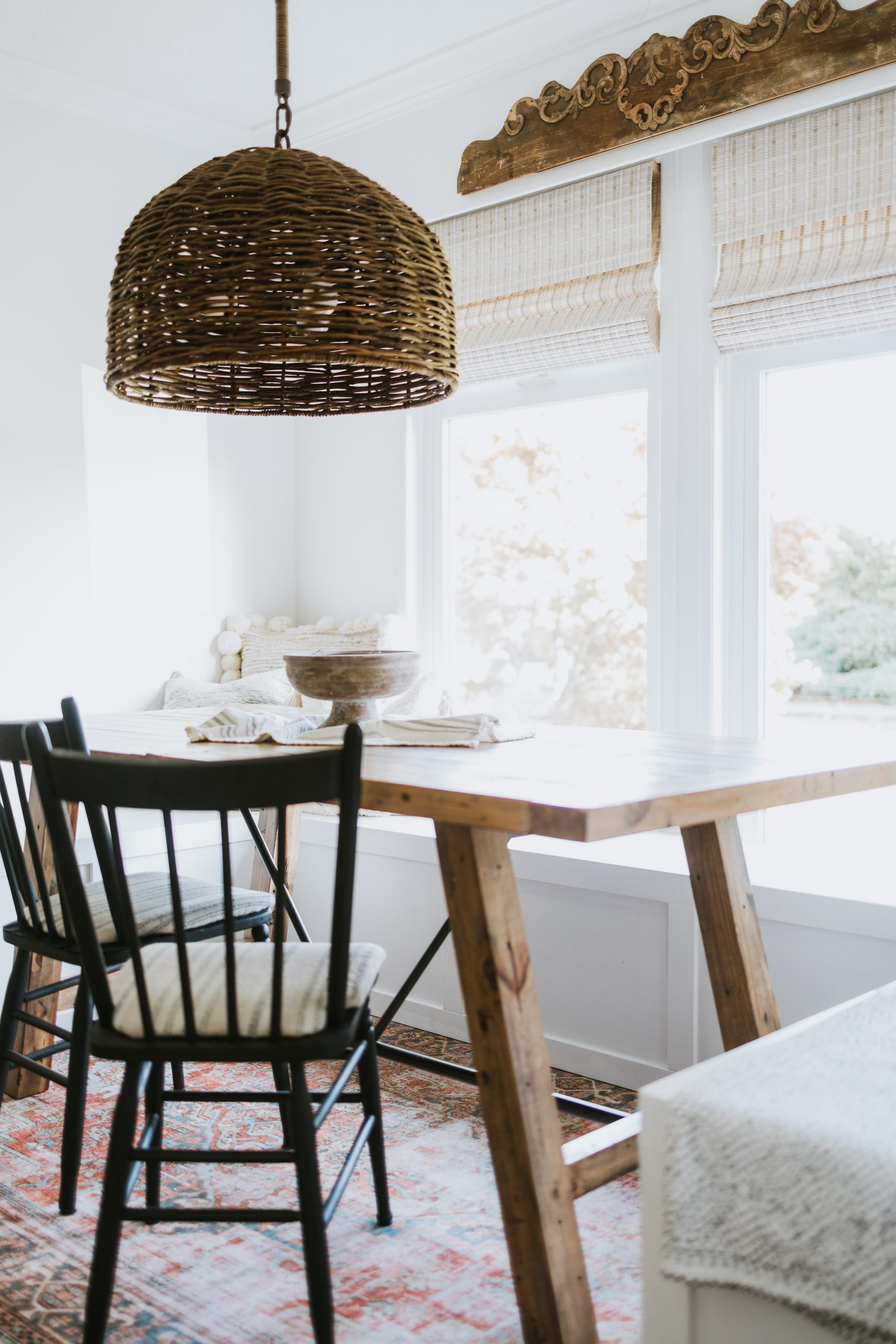 DIY Built-In Dining Room Seating. How We Built Our DIY Benches For Under 400 Dollars. We can Now Seat Up To 12 people instead of 6 around our table.