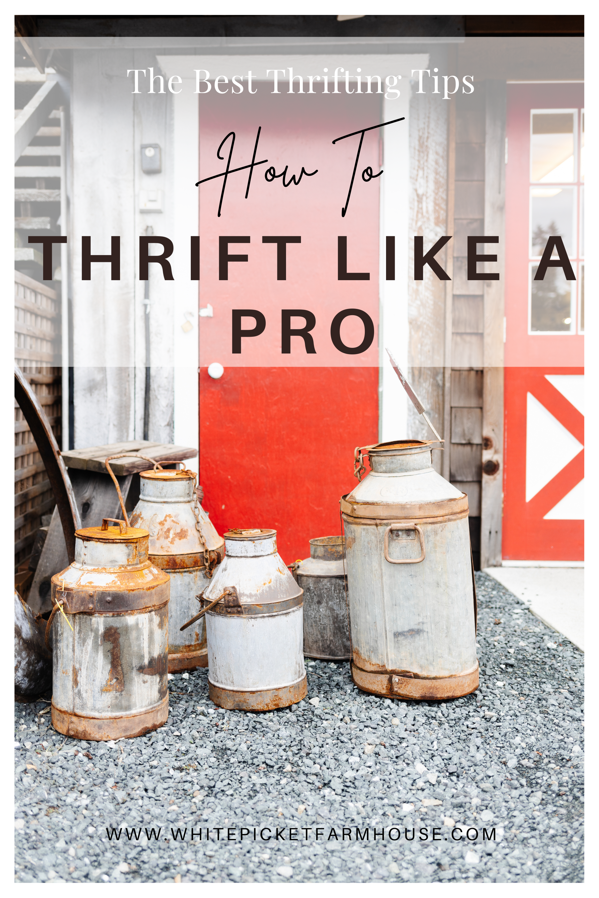 How To Thrift Like A Pro. My Tips and tricks to find the best decor thrifting and what to keep in mind when you're shopping for your home
